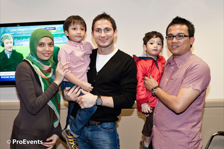 Proevents news meet and greet with frank lampard leo messi for 0 comments m4hsunfo Choice Image