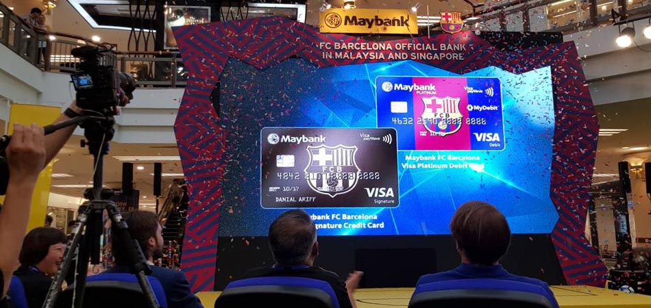 ProEvents   News   Maybank Becomes the Official Bank of FC Barcelona in  Malaysia and Singapore afb3e109ae1